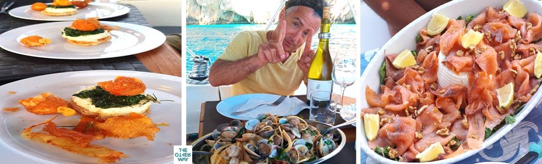 le ricette famose da cucinare in barca