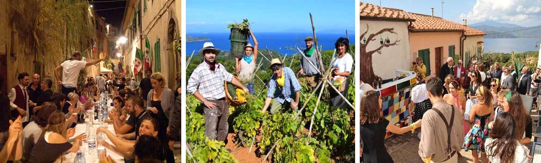Una vacanza all'isola d'Elba per la Festa dell'uva Capoliveri