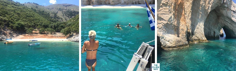 La Grecia Ionica si può visitare in barca a vela, da nord a sud.