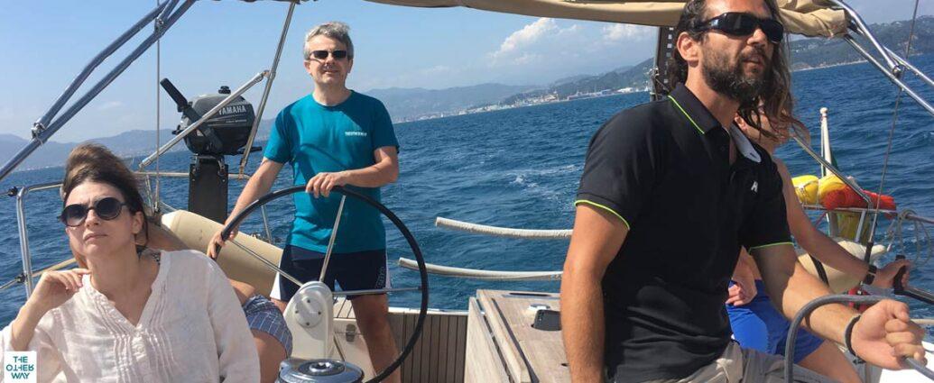 i compiti dello skipper in barca a vela