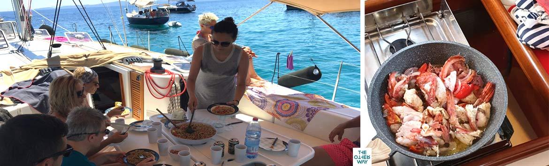 cosa cucinare in barca a vela